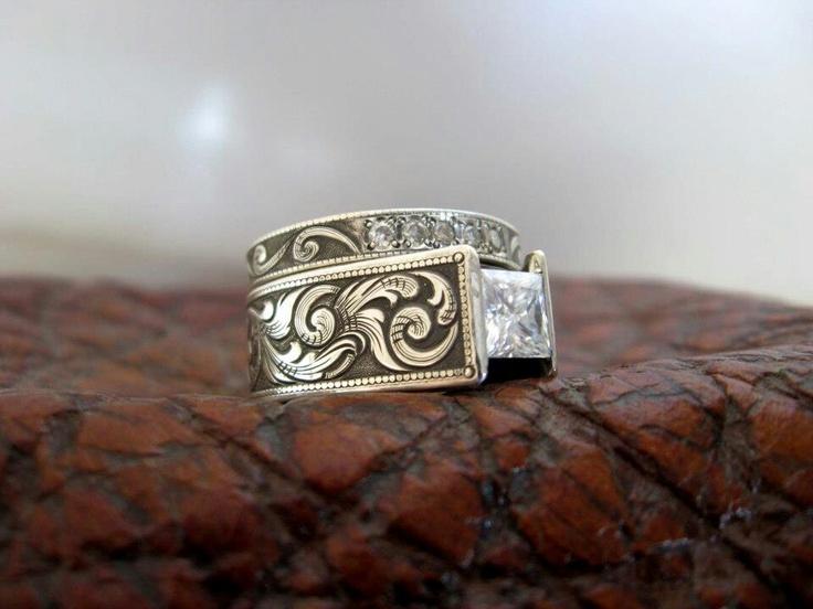 11 Best Custom Engraved Titanium Rings Images On Pinterest