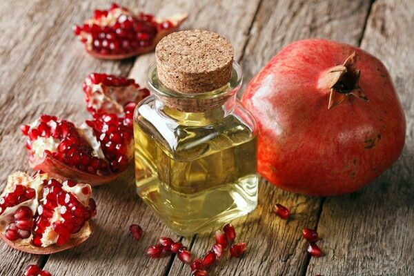 Pomegranate Seed Oil    Antioxidant ○ Deeply nourishing to the outer epidermal layer, pomegranate seed oil provides powerful anti-oxidant benefits for numerous skin ailments, and gently challenges free radicals that damage and age the skin. ○ A great ally to have in your cosmetic creations or as a stand-alone product to help nourish and develop healthy skin cell regeneration. ○ Found at diybathandbody.com