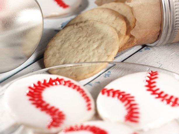 Ballpark CookiesBallpark Cookies, Desserts Ideas, Baking Cookies, Rolls Sugar, Ballpark Parties Food, Baking Ideas, Cereal Recipe, Basebal Cookies, Decor Sugar Cookies