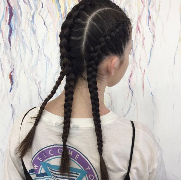 60 Boxer Braid Hairstyles for Your Sporty Side – Hi it me, hair – #Boxer #brai…, #Boxer …