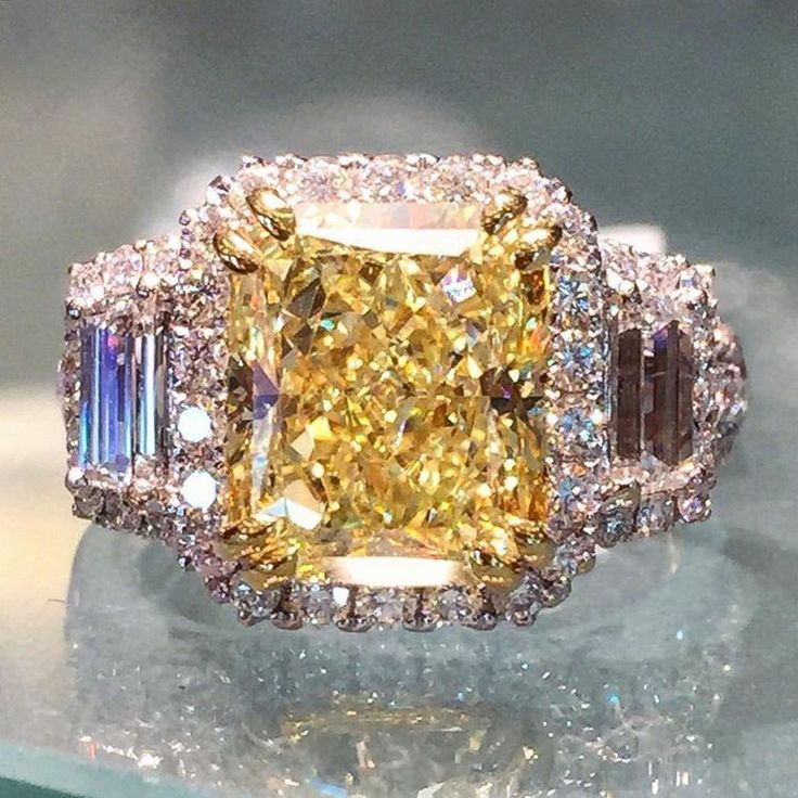 Canary (yellow) diamond. Favorite