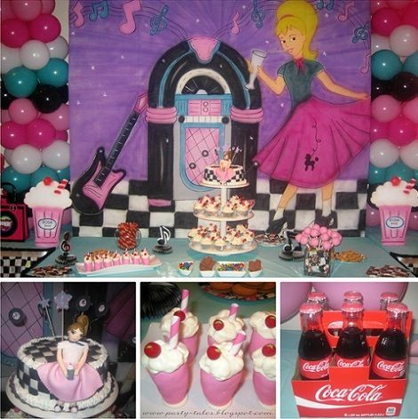 Rock and roll party theme rock - Rock and roll theme party decorations ...