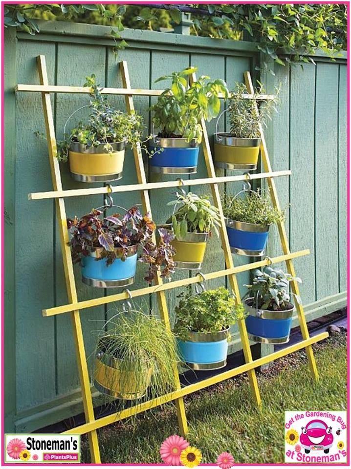 idea for hiding an ugly fence - Garden Ideas To Hide Fence