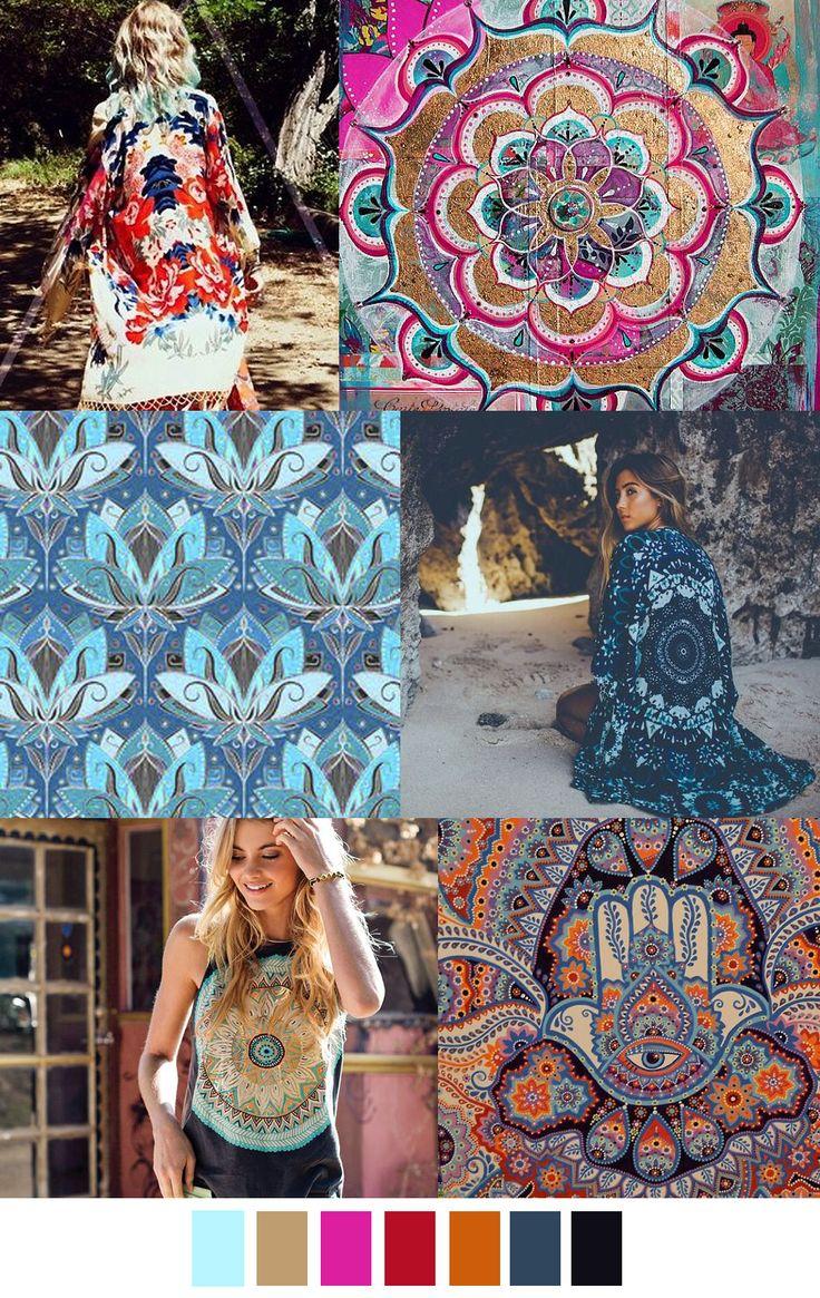 S/S 2017 pattern & colors trends: MEDITATION MEDIA