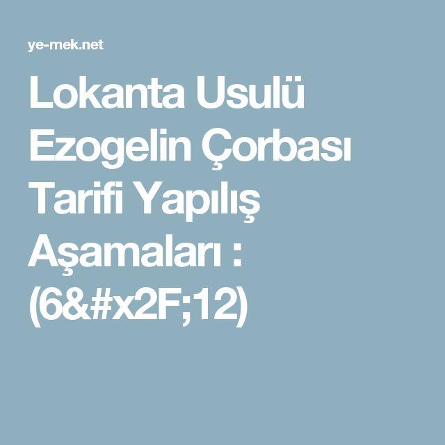 Lokanta Usulü Ezogelin Çorbası Tarifi Yapılış Aşamaları : (6/12)
