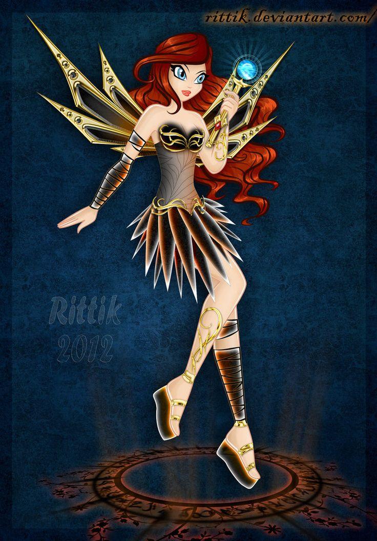Dazzlix selma by rittik anime the little mermaid artist