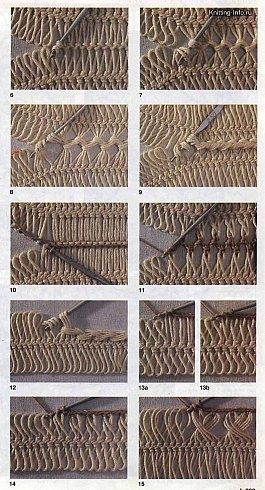 Various Methods of Joining Hairpin Lace Crochet -  ✿⊱╮Teresa Restegui www.pinterest.com...: