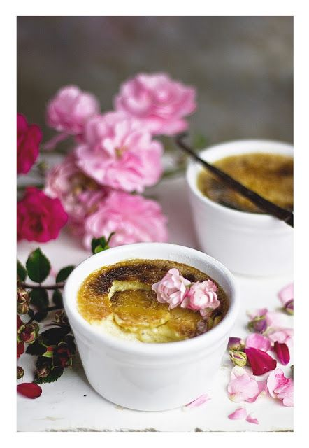 Rose crème brûlée