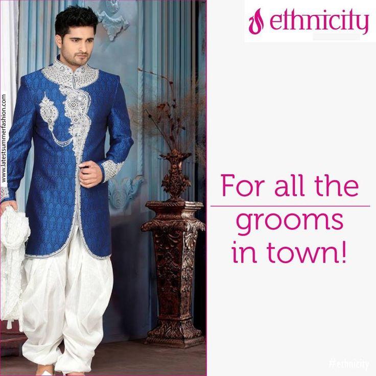 Like if you agree that this is the perfect Sherwani for your Mr.Right on your special day! #fashion #menswear #thebigday #menswear #weddingbells #menswear #fashion #menswear #iconic #kurta
