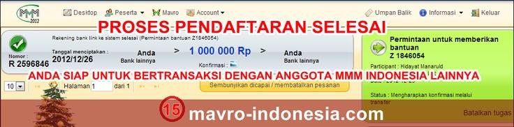 panduan cara cepat daftar MMM Indonesia