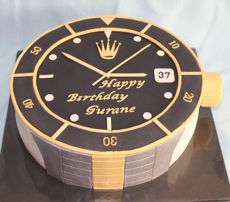 Rolex cake black / gold / bicolor