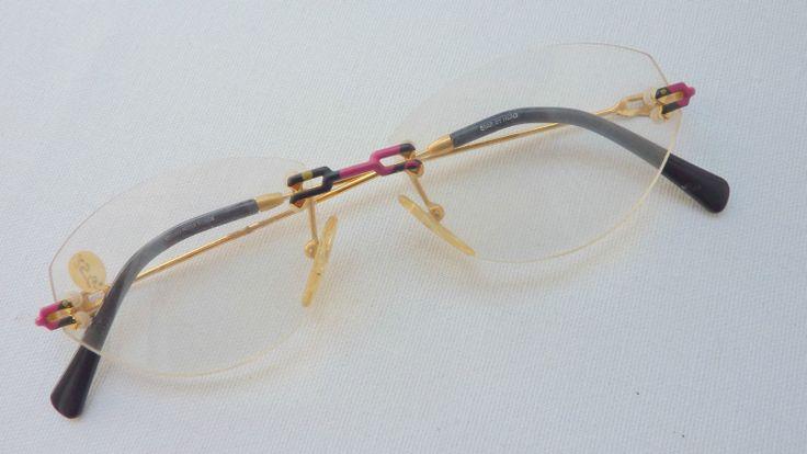 Damen Brille Brillengestell Fassung randlos Neuware Markenbrille Vidi Vici Frame | eBay