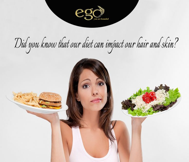 Did you know that our diet can impact our #hair and #skin ? #EgoWellness #Bangalore  Via: http://www.goego.in