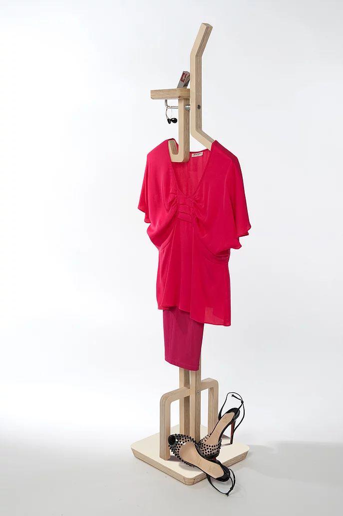 Anara Mailybayeva Tall Poppy clothes valet stand