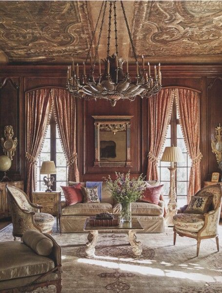 Restoration Of A 1930u2032s Houston Louis XV Style Manor. Interior Design By  Kara Part 96