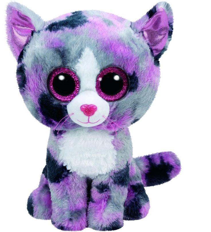 Amazon Com Ty Beanie Boo Plush Lindi The Cat 6 Quot Toys