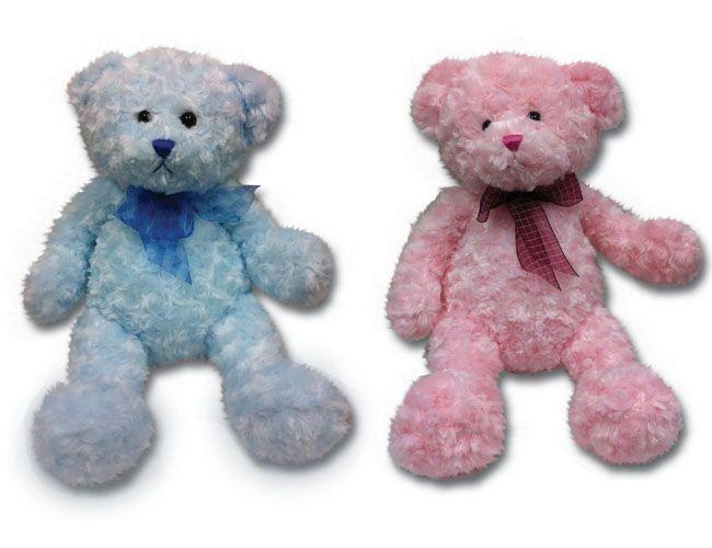 """8393 - Wholesale Teddy Bears - 18"""" Curly Teddy Bear"""