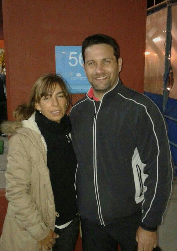 My student Patricia Traversi in Buenos Aires.