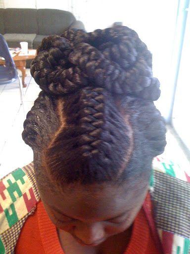 Goddess Braids Black Hair Hair Braiding Done Last Week