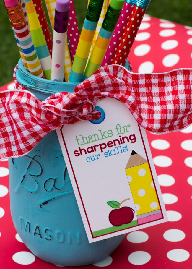 Cute and simple back-to-school or teacher appreciation gift.