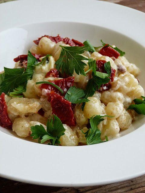 Kouzlo mého domova: Gnocchi se sušenými rajčátky a nivou