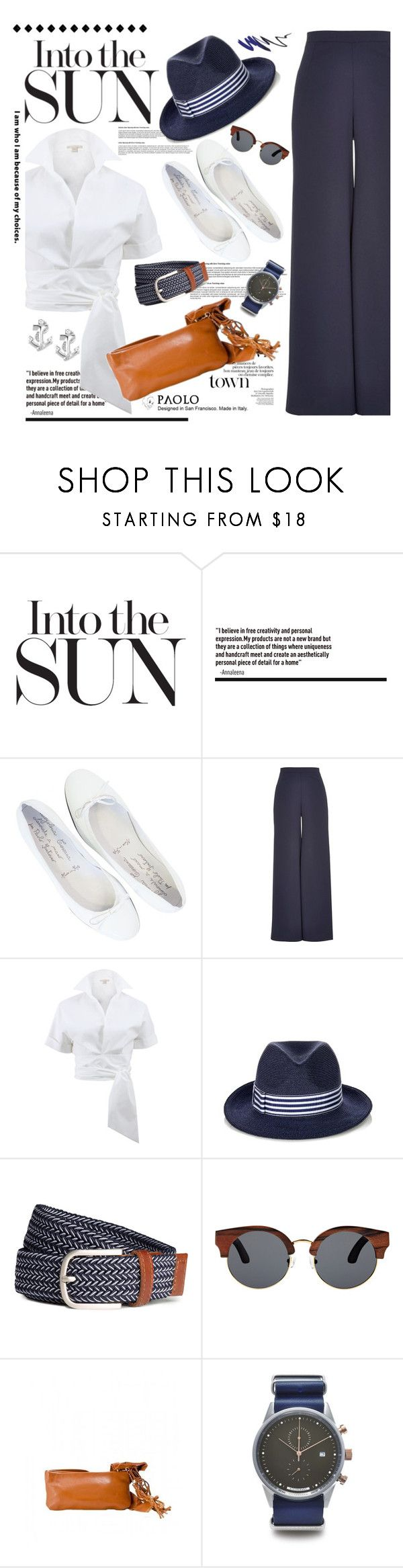 """""""PaoloShoes Summer Look"""" by spenderellastyle ❤ liked on Polyvore featuring River Island, Michael Kors, Eugenia Kim, Finlay & Co., HyperGrand and Betsey Johnson"""