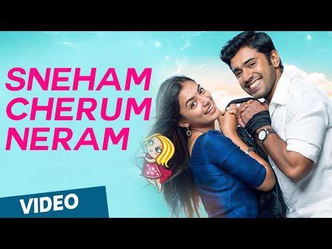 Official : Sneham Cherum Neram Video Song   Ohm Shanthi Oshaana   Nivin Pauly, Nazriya Nazim - YouTube