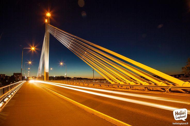 Rovaniemi Lumberjack bridge – beautiful as always!