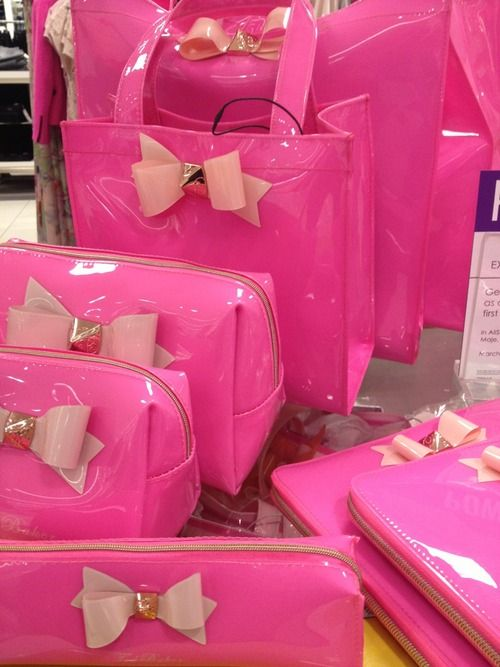 I just don't understand how all this pink could exist in a world without my knowledge! Ted Baker