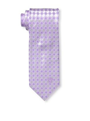 59% OFF Versace Men's Flower Block Tie, Purple