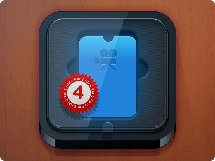 PassBox iOS Icon (updated) by Takahashi Alex