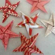 D coration de chambre salon maison en origami une - Decoration de noel en origami ...