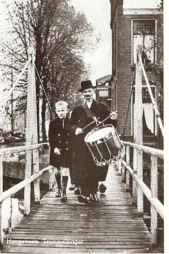 Hendrik Leyssenaar, trommelslager in Hoogeveen. Broer van overgrootmoeder!
