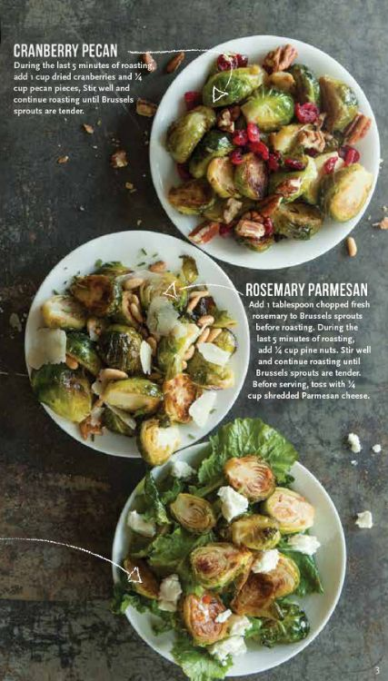 brussel sprouts 3 ways @Aundra Boeckman Edwards Foods Market Thanksgiving recipes
