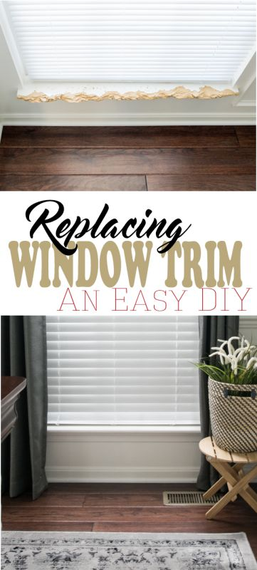 how to build a window sill interior