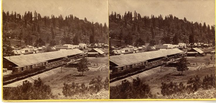 Lawrence & Houseworth Central Pacific Railroad construction photographs, 1866-1868  (13)    http://purl.stanford.edu/pm382dg9681