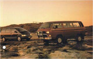 VW CARAVELLE SYNCRO T3 vs TOYOTA TARAGO vs MITSUBISHI STARWAGON,