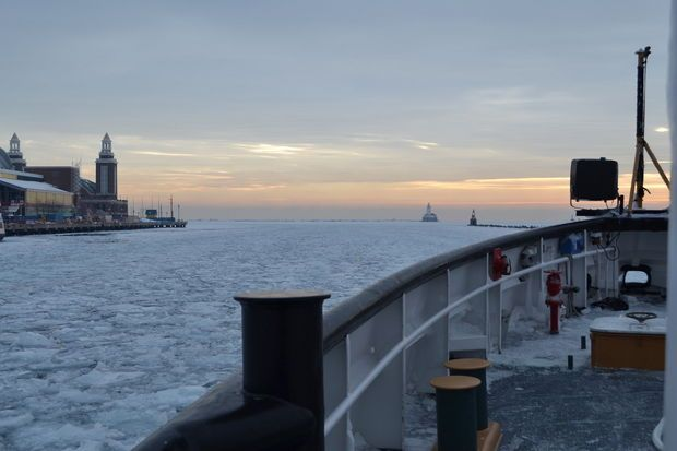 Great Lakes ice-breaking cutters forge through frozen waters as ice coverage nears all-time record | MLive.com
