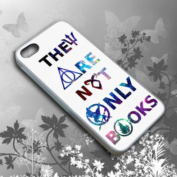 Hunger Game Harry Potter Book Quotes Cell Phone, iPhone 4/4s/5/5s/5c case cover, iPod 4/5 case cover, Samsung Galaxy S4/S5 case cover