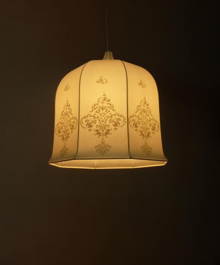 Baroc Printed Dome 50cm Lamp Shade