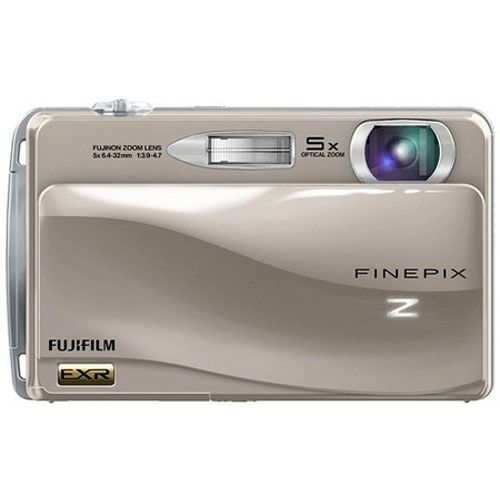 Fujifilm Z700 EXR - 12 MP Digital Camera with 5x Optical Zoom - Silver - Refurbished | Cameras and Camcorders | Visions Electronics