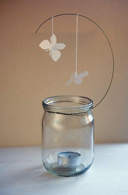 Riciclo Creativo: Come fare lanterne con barattoli di vetro