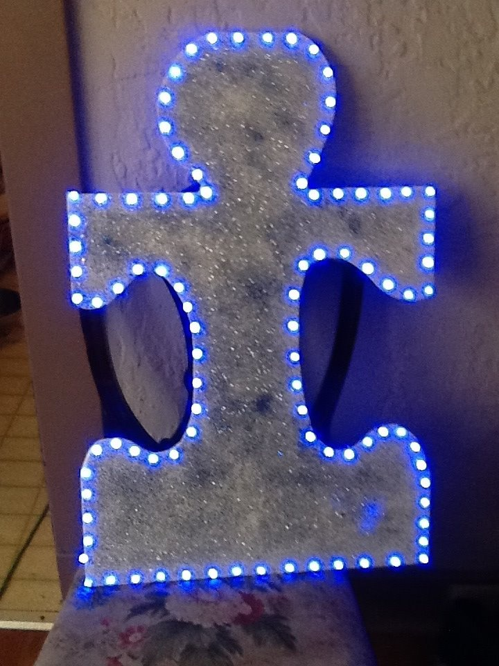 """Don't forget to """"Light it Up Blue"""" for Autism Awareness on April 2nd"""