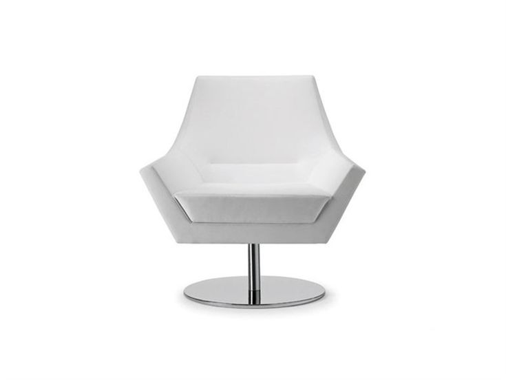 Swivel Low Lounge Chair With 5 Spoke Base FLY TOO 063 By Tonon | Design