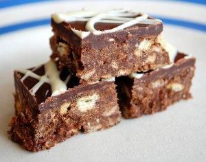 Chocolate traybake - the next recipe on our list of goodies to bake