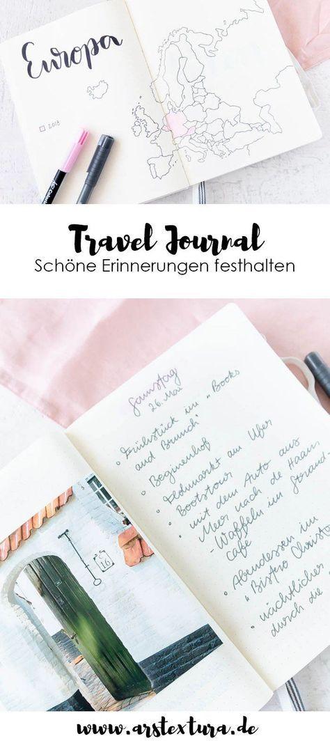 Travel Journal – Der perfekte Begleiter für Reisen