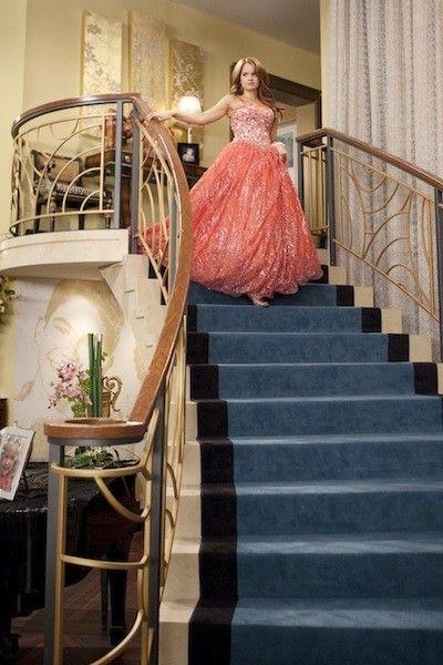 Jessie Descends the Staircase