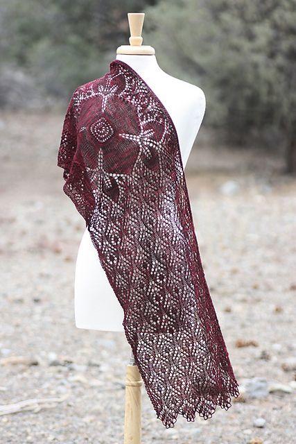 Ravelry: Crimson Blossom pattern by Rosemary (Romi) Hill