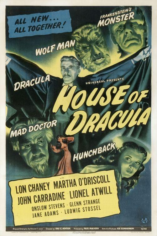 House of Dracula (1945) - Lon Chaney, Jr.