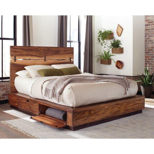Winslow Storage Platform Bed King Storage Bed Walnut Bed Diy Platform Bed